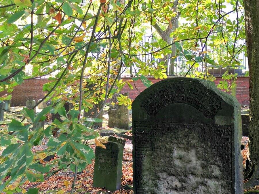 Fotolocaties voor de herfst: Jüdischer Friedhof in Altona