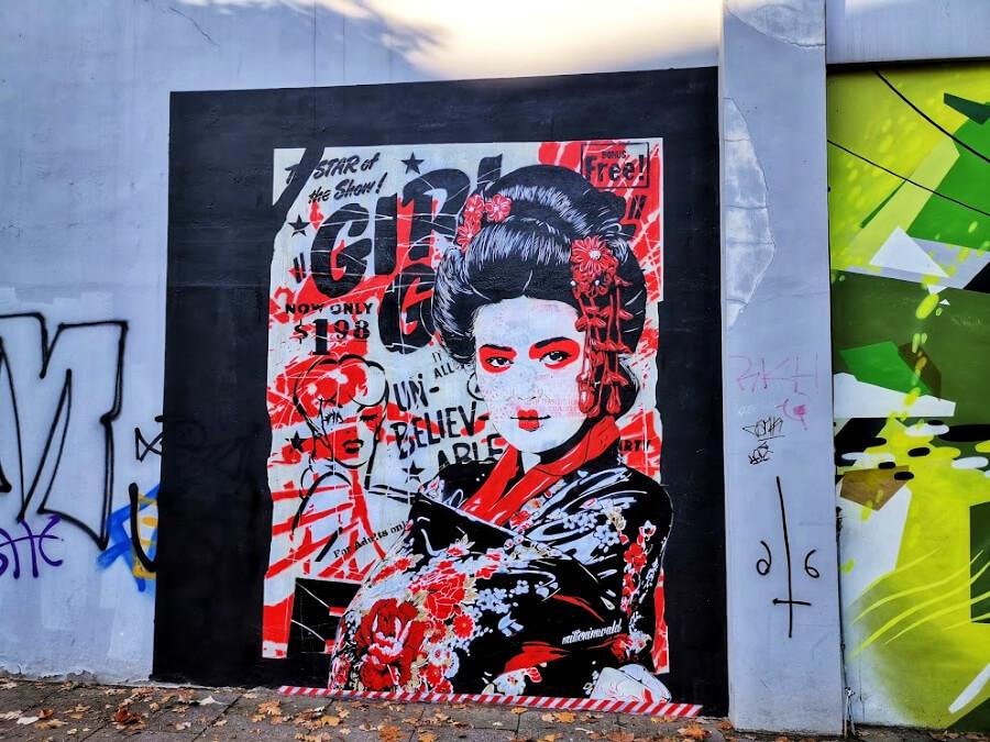 Hamburg in november: street art geht immer | Standort Hamburg