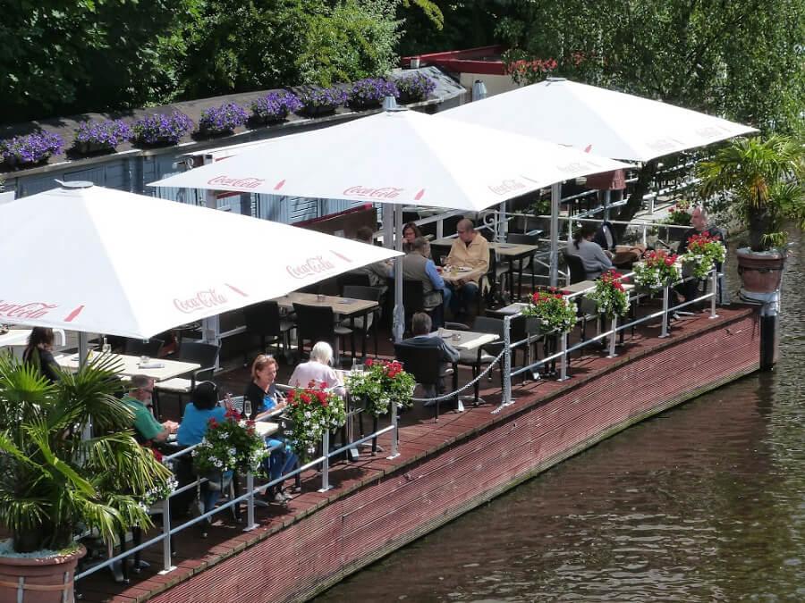 Eten aan de Alster | Standort Hamburg