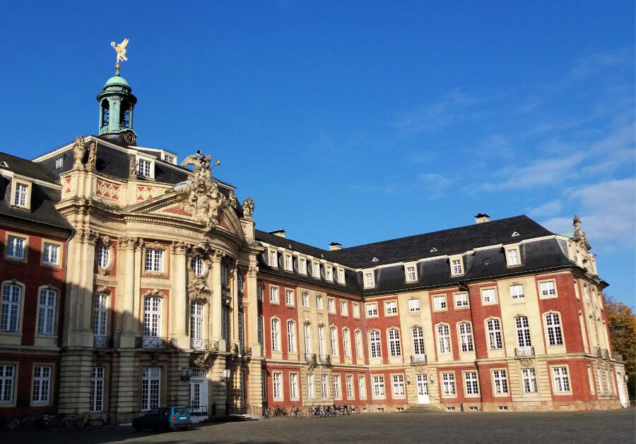 Stedentrip Münster: Schloss Münster | Standort Hamburg