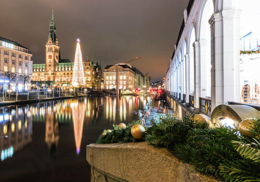 Kerstrondleidingen door Hamburg