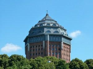 Logeren in een watertoren: Schanzenturm