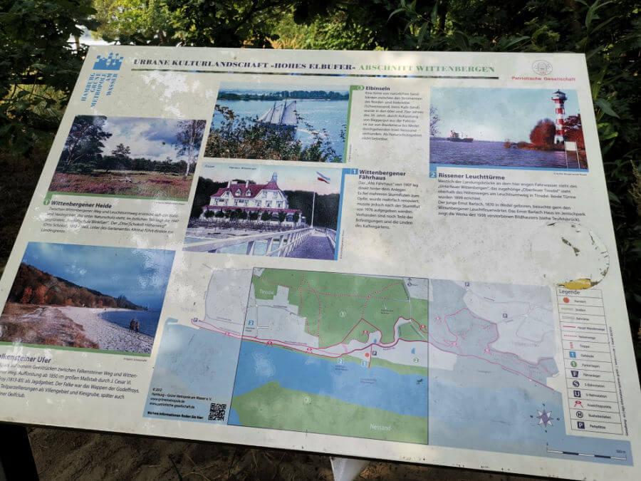 Fietstocht in Hamburg: Beschermd natuurgebied aan de Falkensteiner Ufer