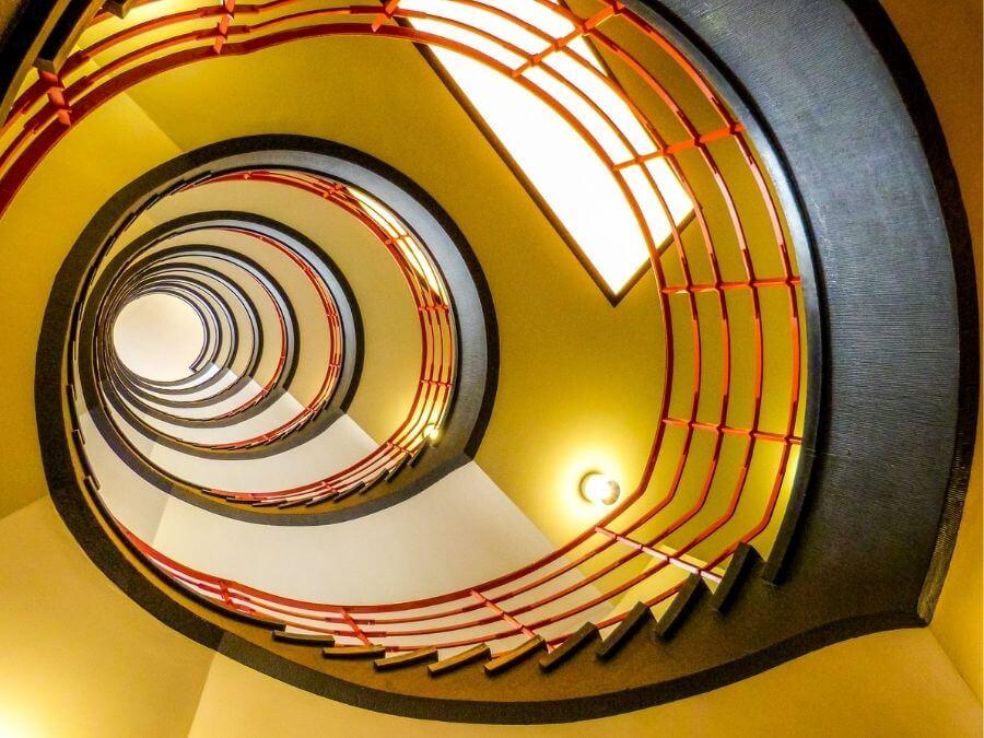 Trappenhuizen in Hamburg: Sprinkenhof