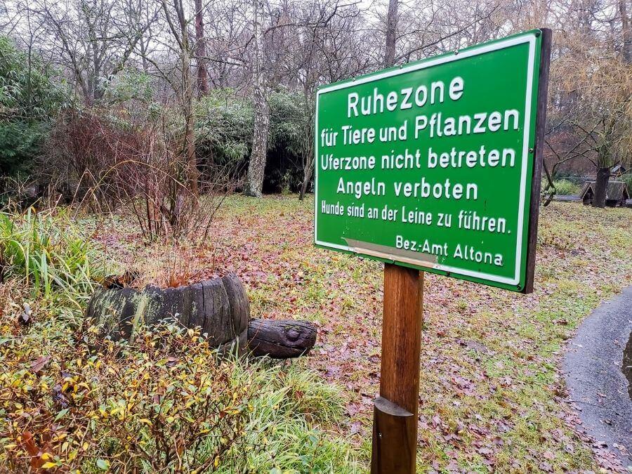Rustzone bij de Ententeich