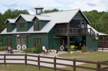 Pole Barn House Plans       Post Frame Flexibility  pole barn house plans