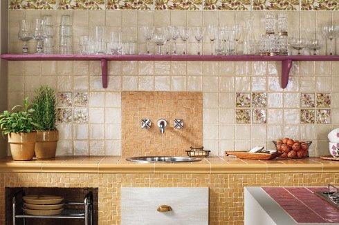Kitchen Backsplash Tile DesignsSavory Splashes Of Color
