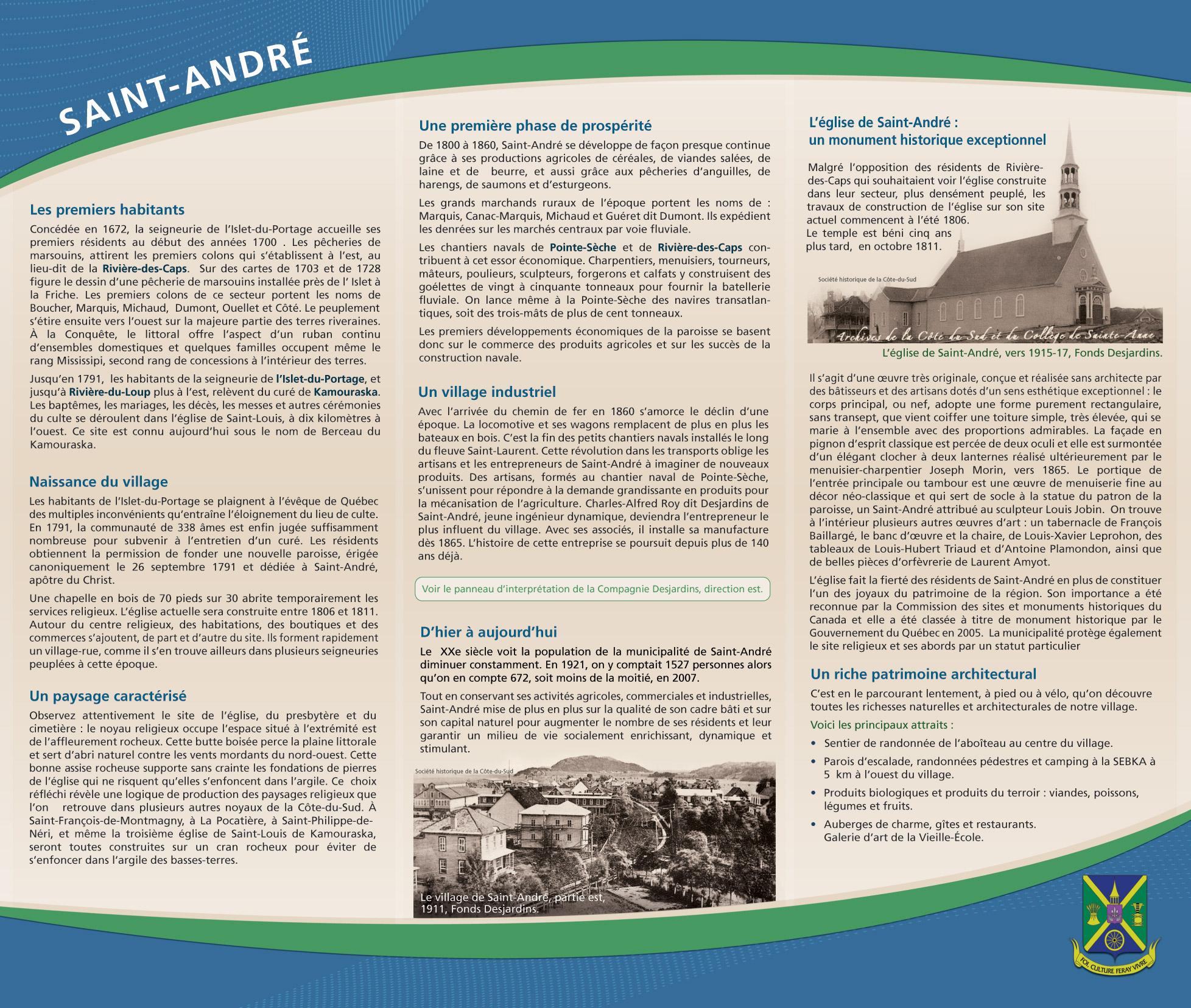 Histoire de Saint-André