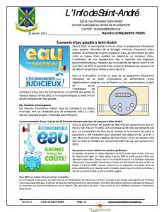L'info de Saint-André janvier 2017