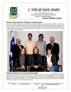 L'Info de St-André -Octobre 2017