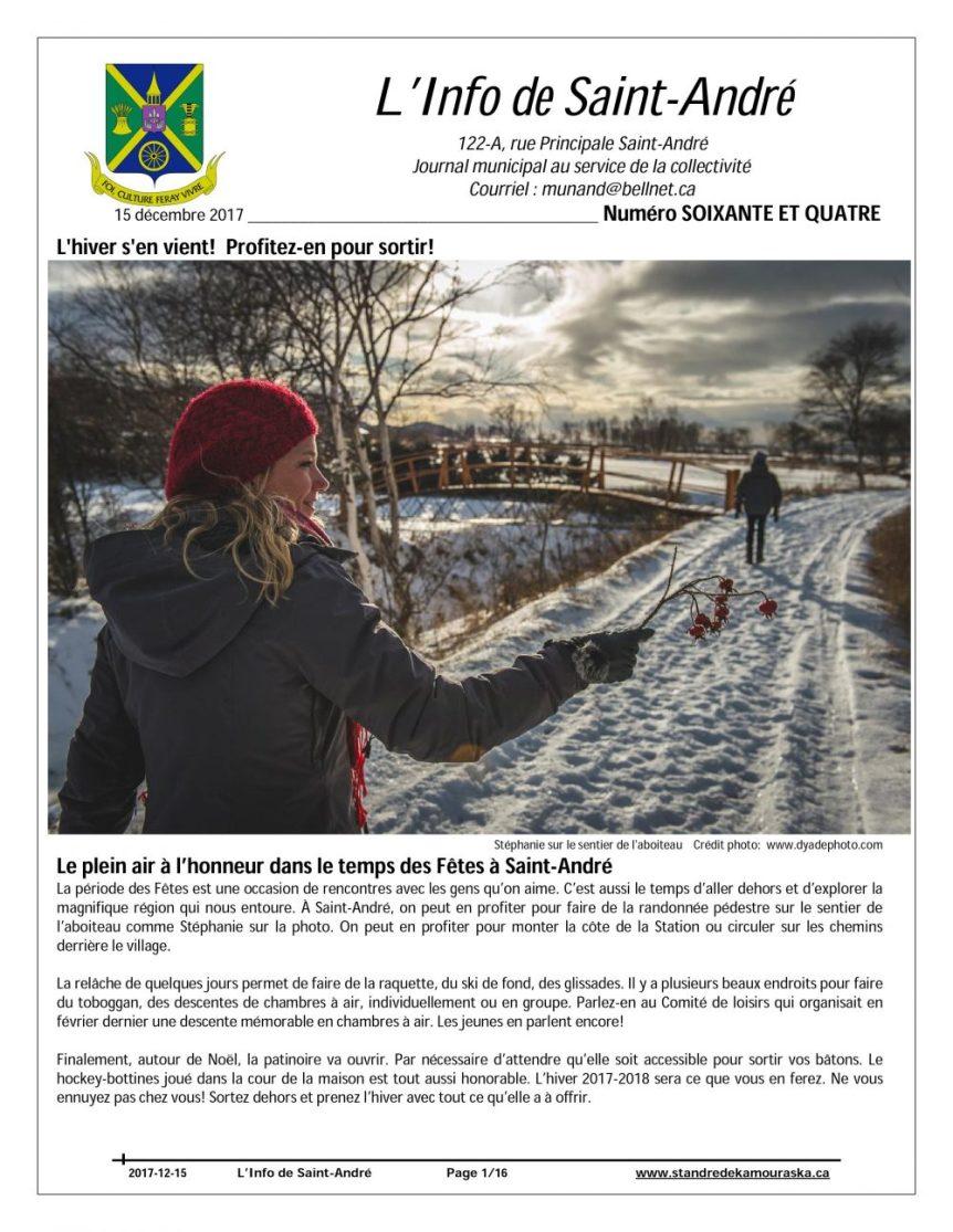 Info de St-André de décembre