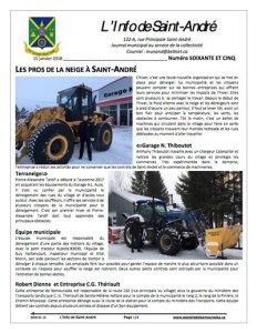 Info de St-André de janvier 2018
