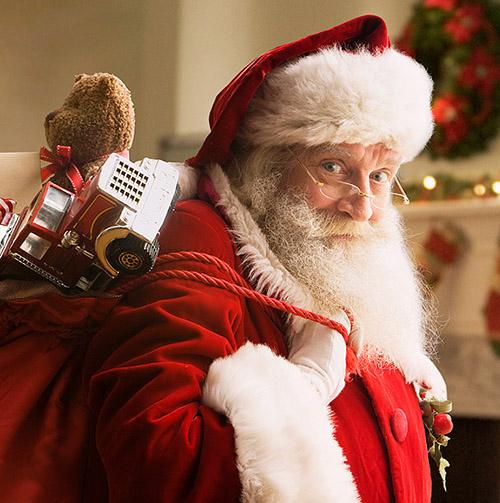 Santa Claus at the Saint Andrew Christmas Festival