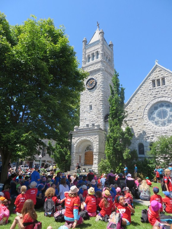 The Buskers' Festival at St. Andrew's - July 2014