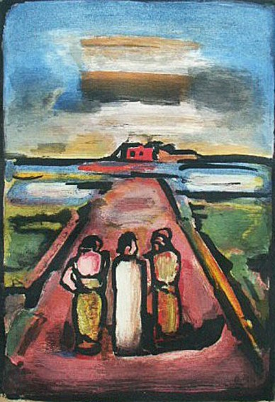Christ and Disciples George Rouault (1936-1939) National Gallery of Canada