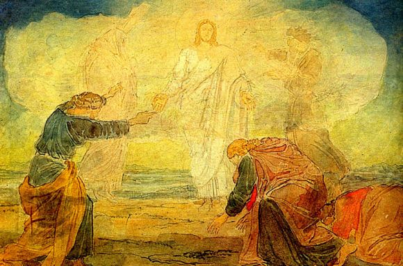 The Transfiguration of Jesus - Alexander Andreyevich Ivanov (1806-1858)
