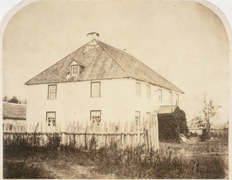 Residence of Chief Factor (the late Mr. Bird), 1858