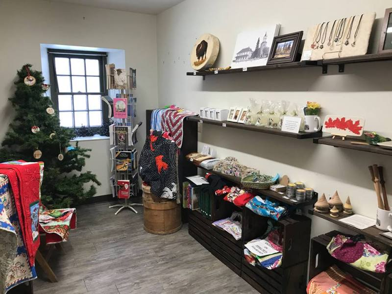 Our gift shop contains the works of local artists; the perfect place to get a souvenir.