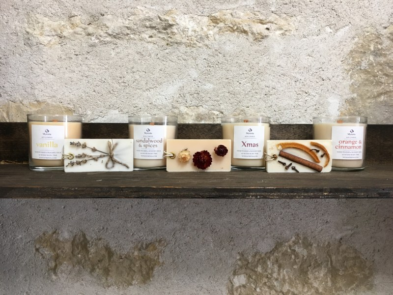 Handmade Soap and Candles