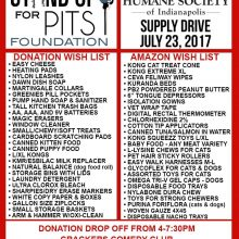 SUFP Donation Drive INDIANAPOLIS happens JULY 23rd!!
