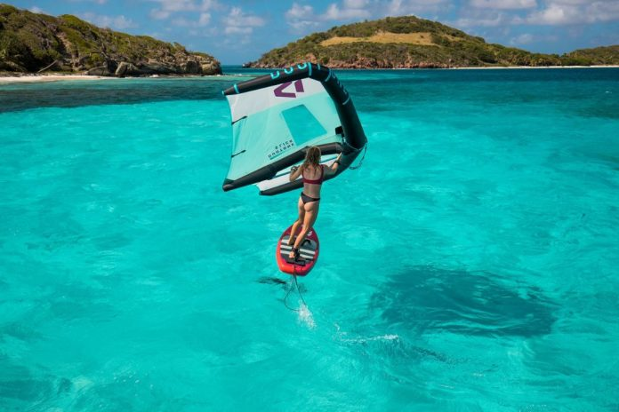 Fanatic Sky Air wing foiling inflatable board