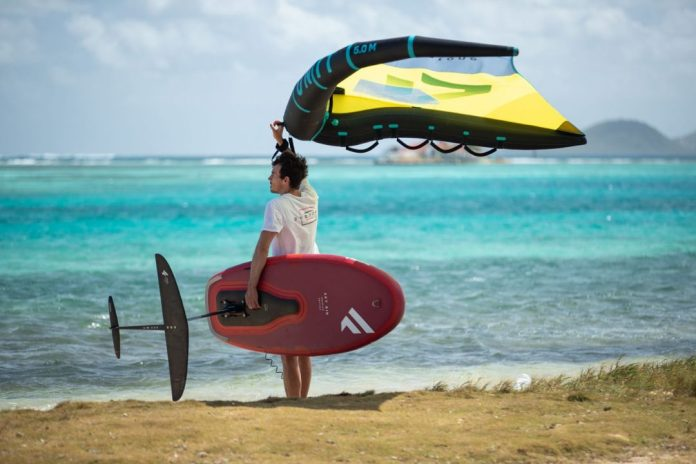 Fanatic Sky Air inflatable wing foiling board