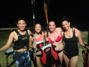 Smiles after Bioluminescence Tour
