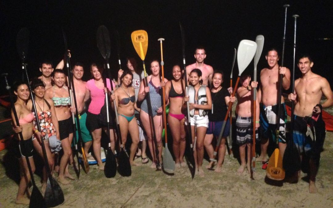 After Wedding Stand Up Paddle