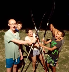 Family on Bioluminescence Tour