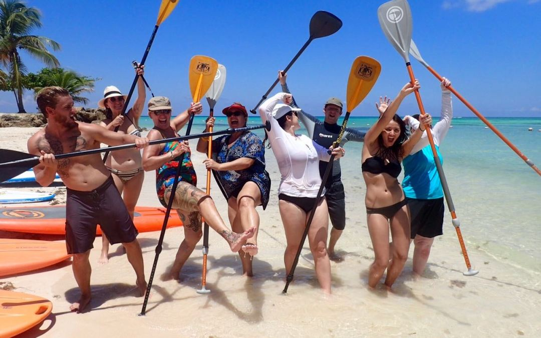 Adventure Tour Operators Learn Stand Up Paddle