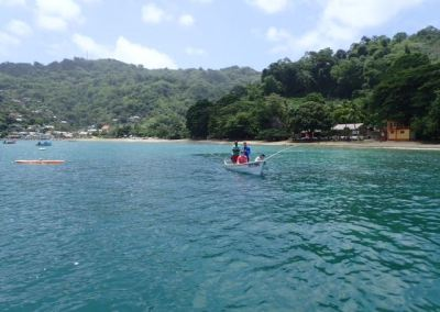 Man O War Bay, Charlotteville