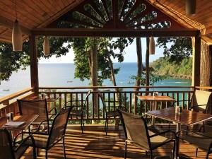 Castara Retreats Restaurant