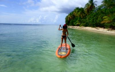 Learn to Stand Up Paddle in the Caribbean