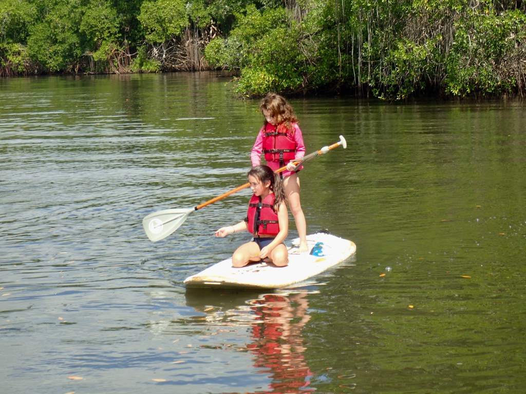 Sisters on SUP