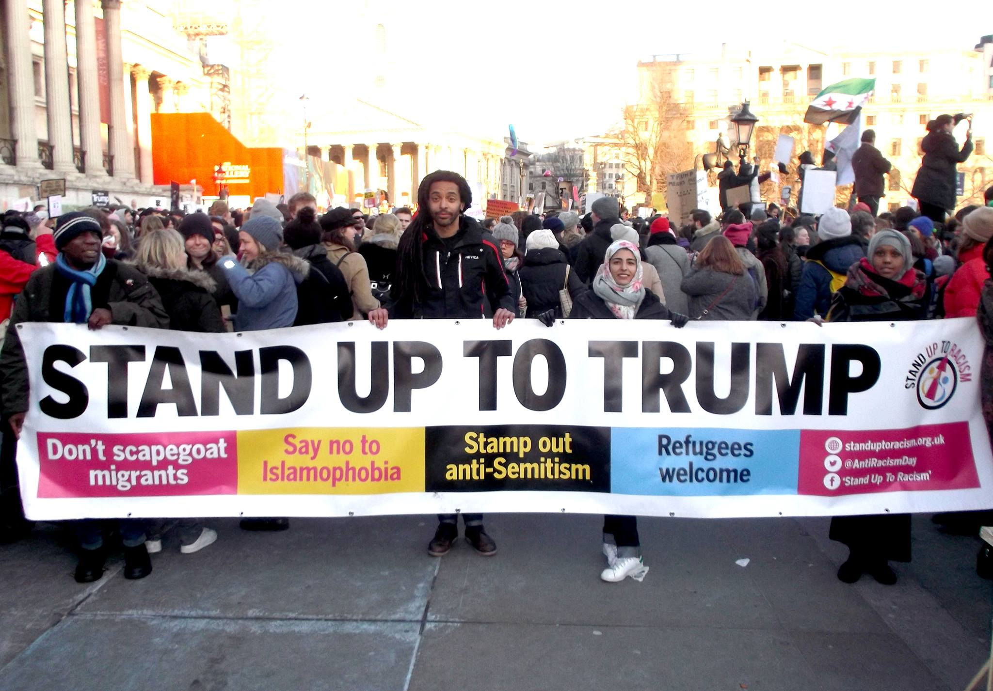 Image result for stand up to trump