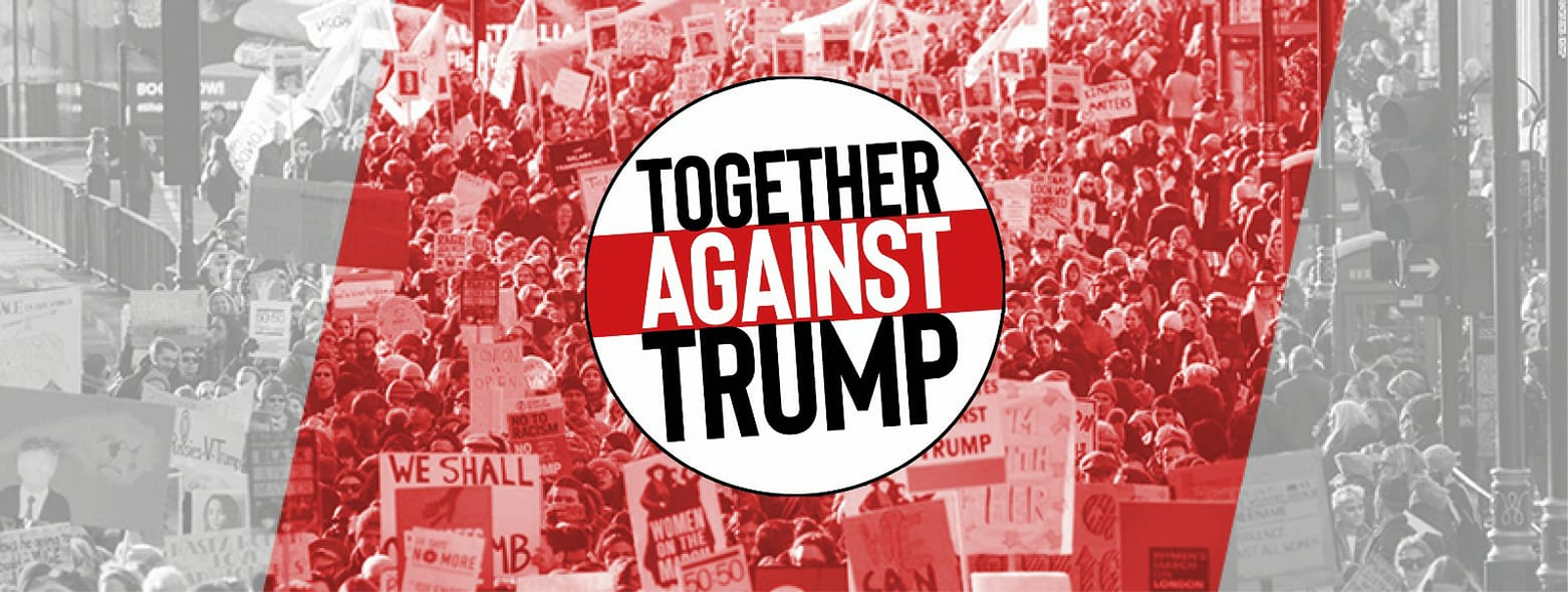 Image result for together against  trump