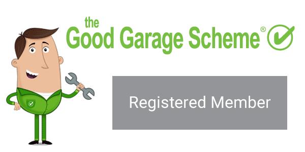 Good Garage Scheme Registered Member Logo