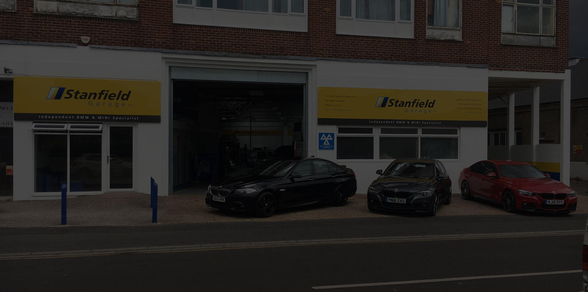 Stanfield Garage Carousel Photo - New Premises