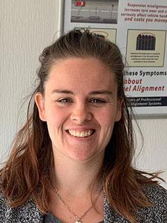 Hayley - Receptionist at Stanfield Garage in Bournemouth