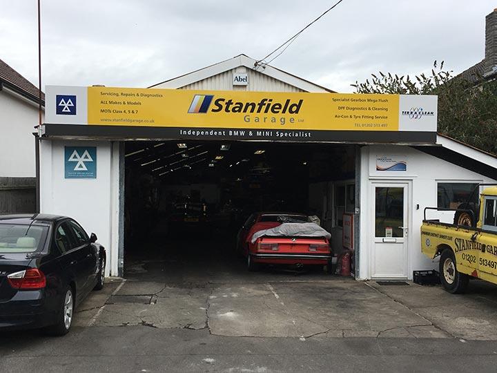 Stanfield Garage Gorsecliff Road