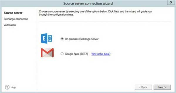 Which Office 365 Migration Tools - screen grab