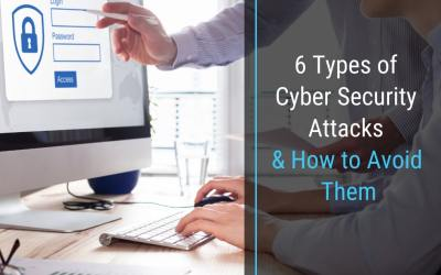 6 Types of Cyber Security Attacks and How to Avoid Them