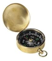 Small Compass (Brass)