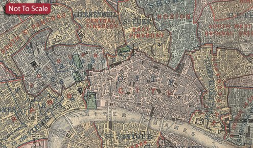 Stanford s Map of the County of London  1888    A1 Wall Map  Paper     Stanford s Map of the County of London  1888    A1 Wall Map  Paper