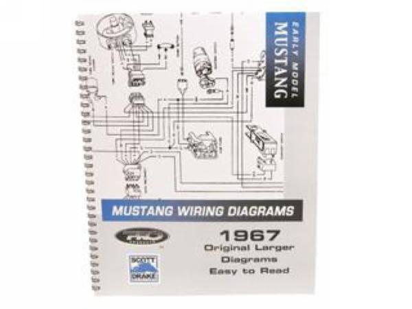 1967 mustang pro wiring diagram manual large format