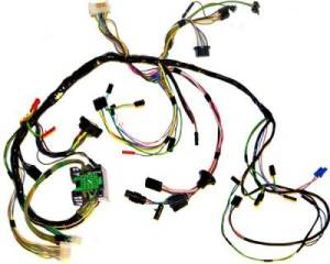 1969 Mustang Under Dash Wiring Harness, use w Tach