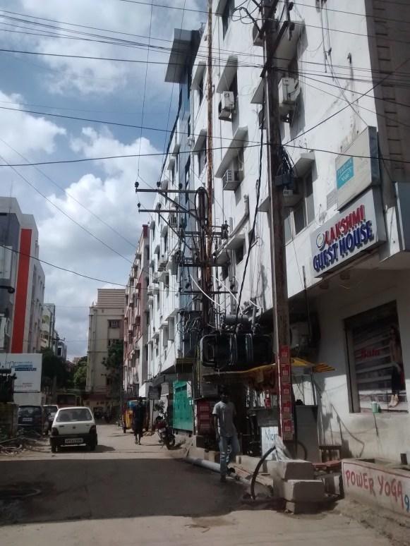 Road around Hyderabad