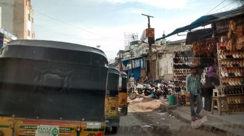 Traffic around Hyderabad