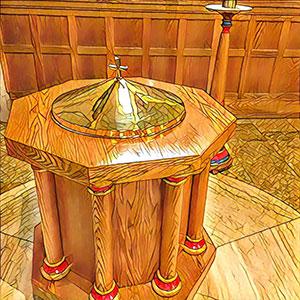 chrzcielnica-Hamilton