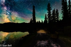 Night Sky Photography at ForgetMeNot Pond